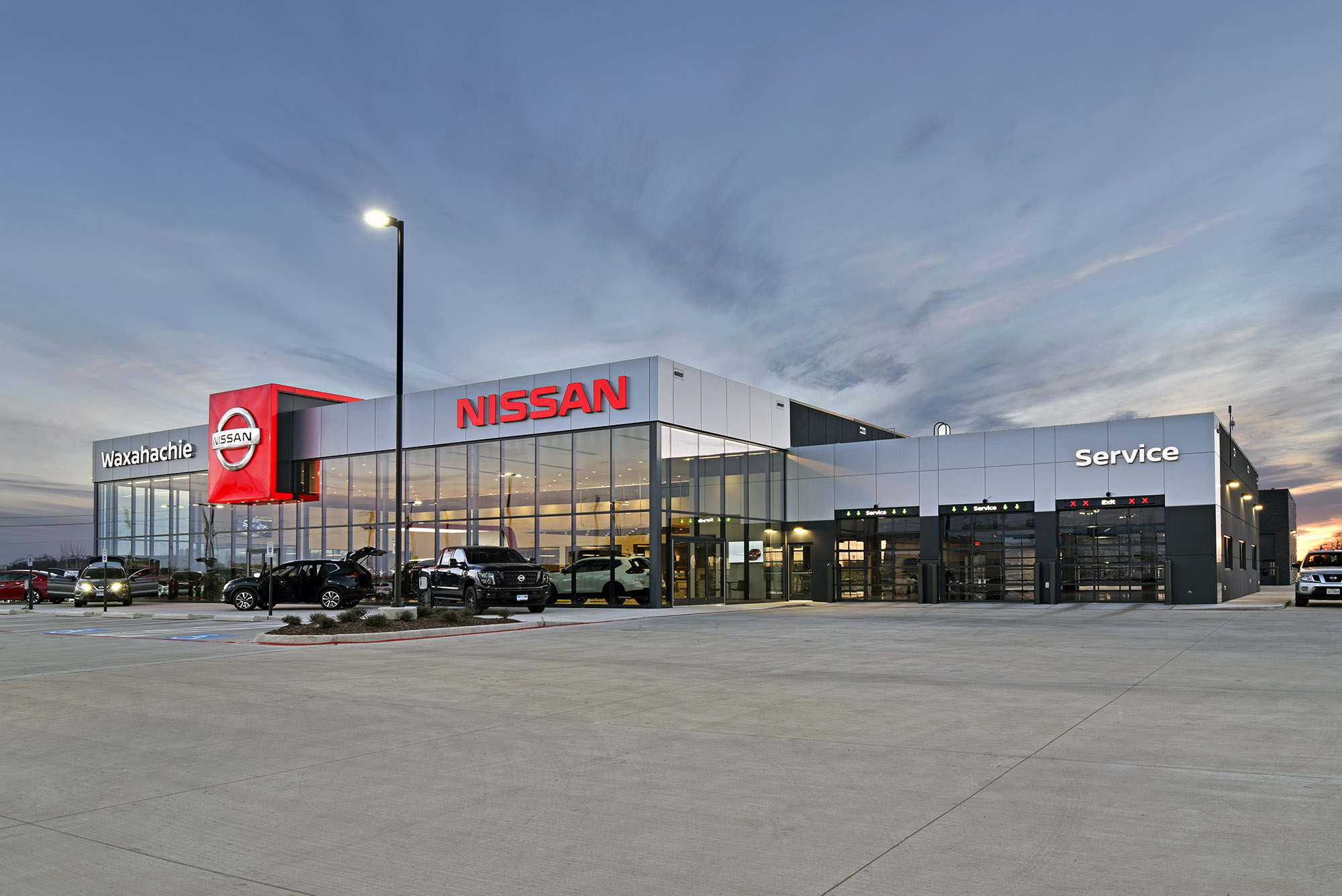 Nissan Dealership Okc >> Waxahachie Nissan Dealership Cedar Creek Civil