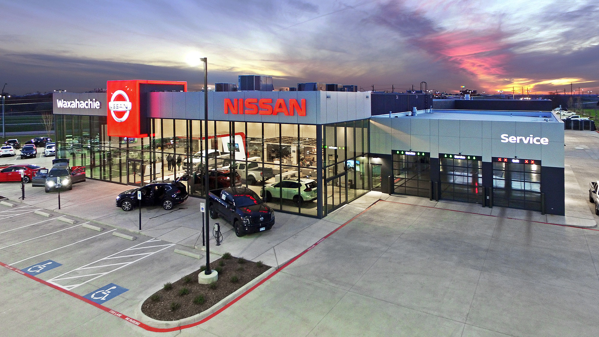 Waxahachie Nissan Dealership – Cedar Creek – Civil Engineering